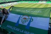 La Peña Antonio Moguer estrena sus nuevas banderas