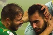Borja Iglesias: «Es fruto del trabajo de mucha gente; es una noche para recordar»