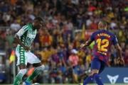 El Betis no fue rival para un Barça sin Messi