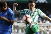 Guardado, novedad en la lista del Betis para el partido ante el Leganés
