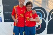 Debut con victoria de Manu Morillo con la selección sub-17 de España