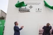 El Betis recuerda el centenario del campo del Patronato