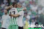 El Real Betis y Quique Setién deciden no continuar juntos la próxima temporada
